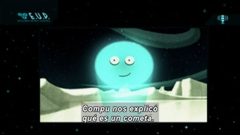 Still image from Around The Universe: Cometicus (Spanish)