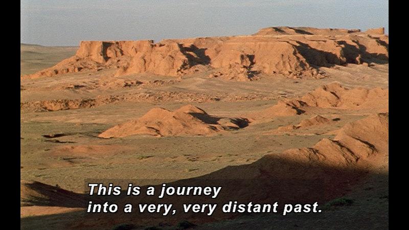 Still image from Wild Chronicles: Dinosaur Fossils In The Gobi Desert