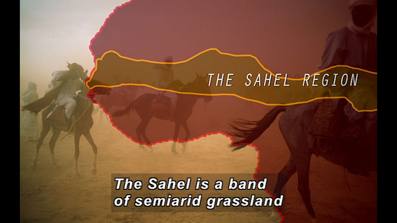 Still image from Wild Chronicles: The Sahel Region
