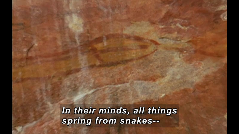 Still image from Wild Chronicles: The Rainbow Serpent And The Creation Myth
