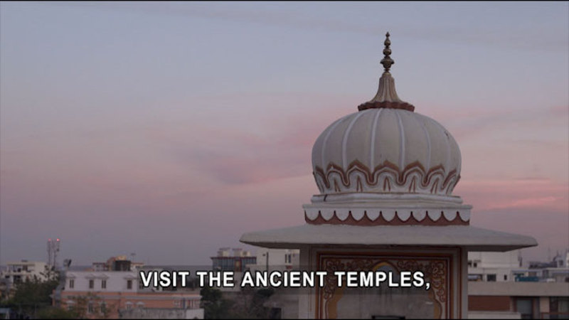 Still image from Born To Explore: India
