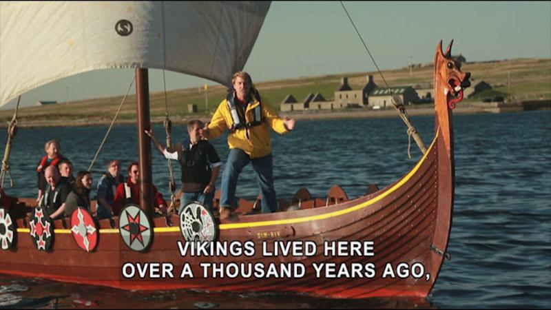 Still image from Born To Explore: Scotland