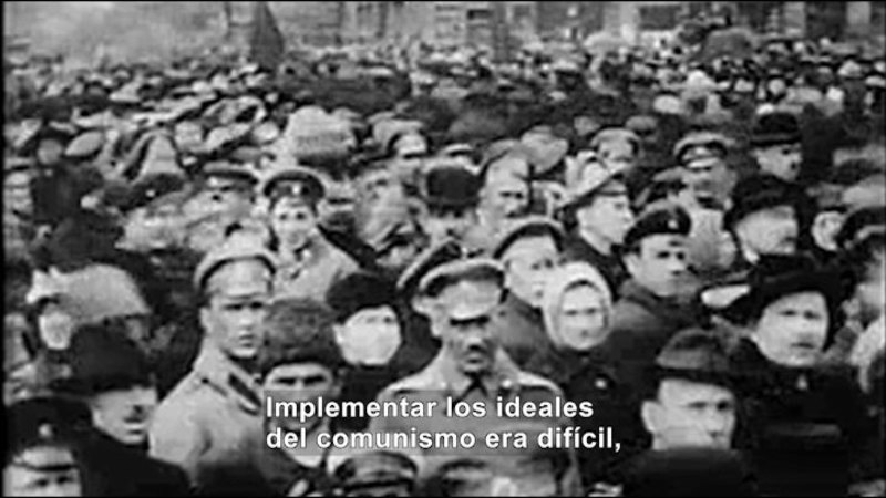 Still image from Social Studies Video Vocab: Communism (Spanish)