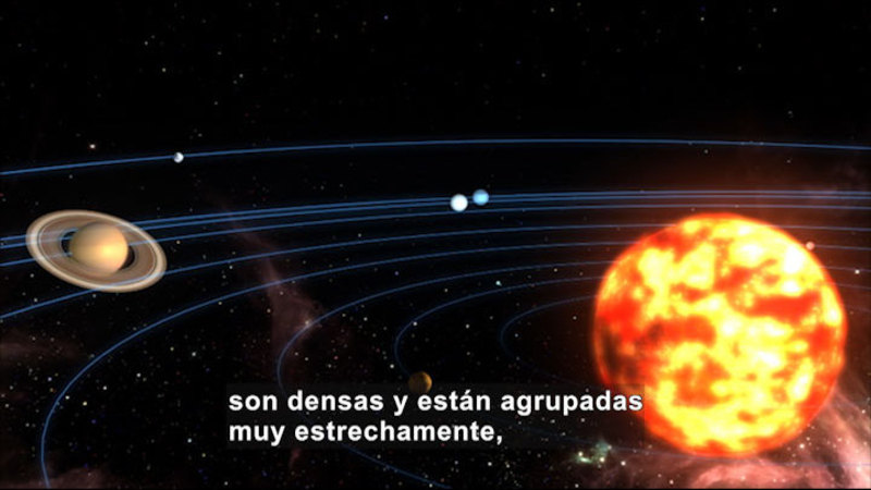 Still image from Science Video Vocab: Mass (Spanish)