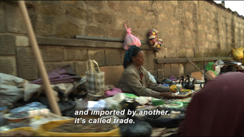 Still image from Cultural Interdependence: Economy