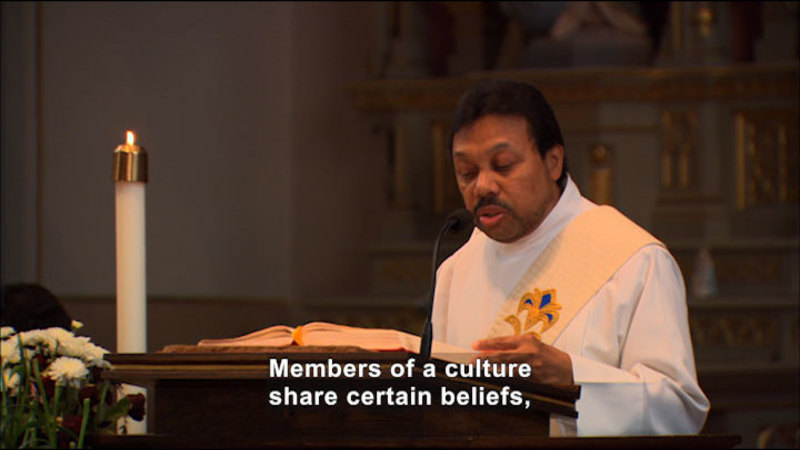Still image from Cultural Interdependence: Beliefs And Values