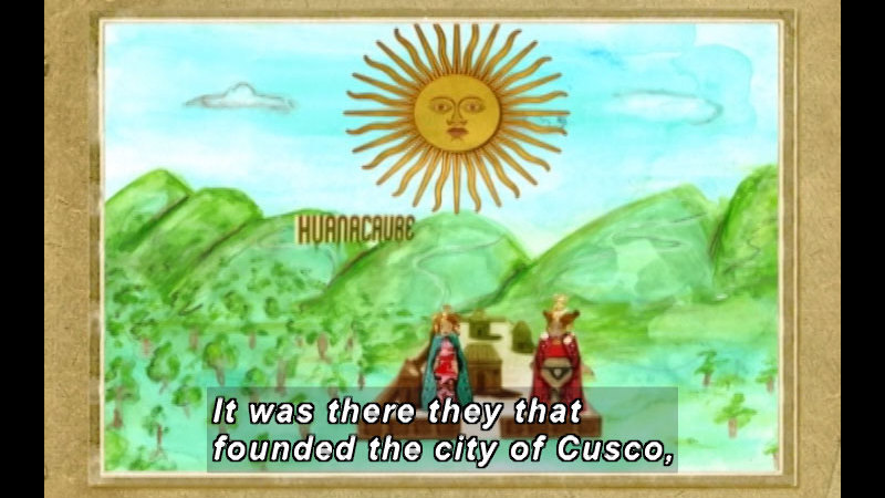 Still image from The Time Compass: Incas And The Andean Cultures