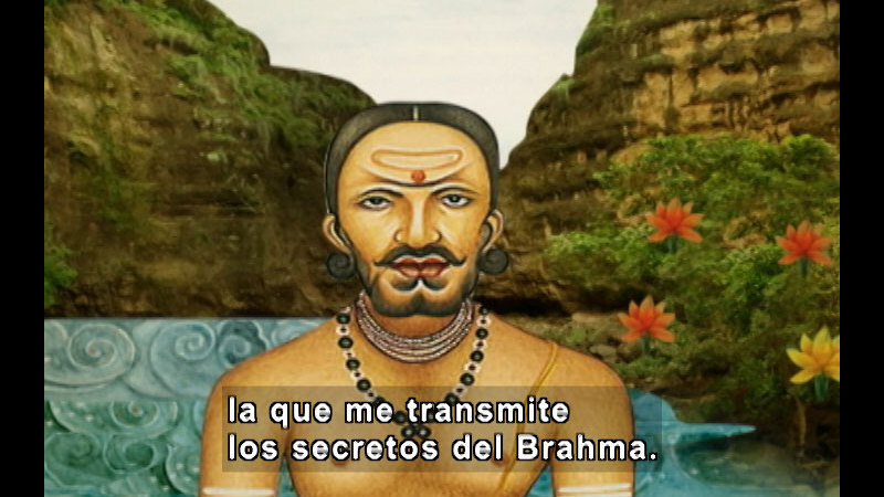 Still image from The Time Compass: India (Spanish)