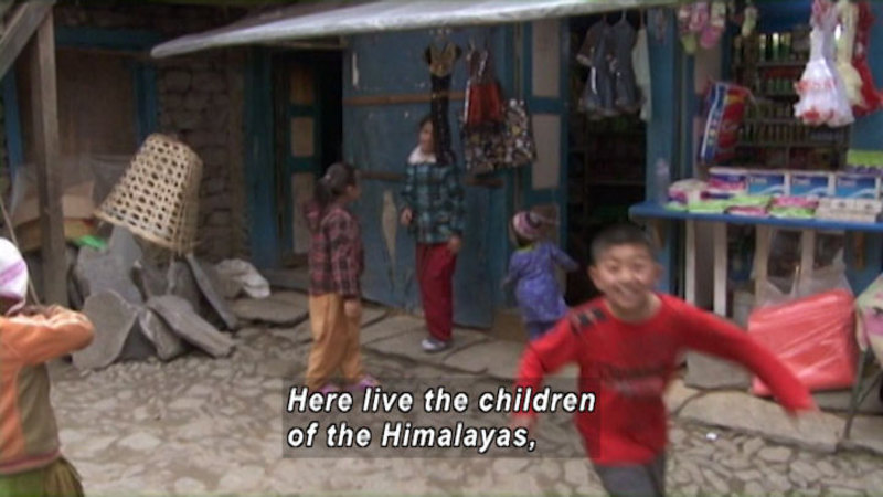 Still image from Nepal: Children Of The Himalayan Sherpa