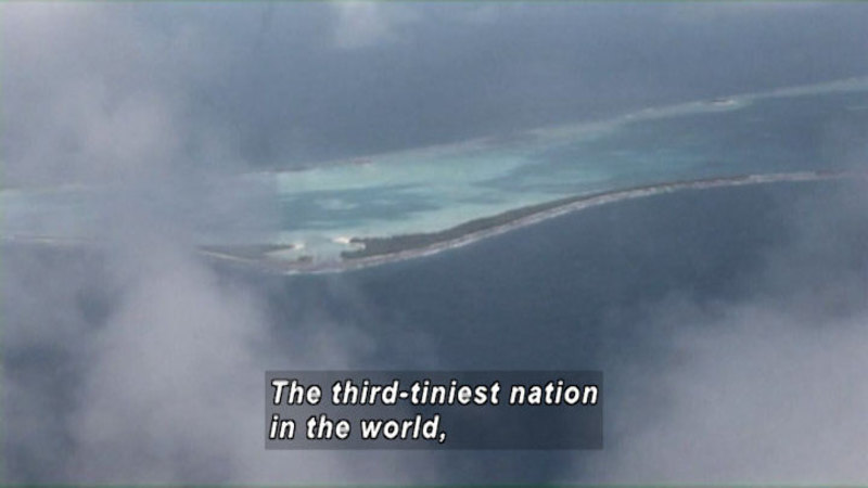 Still image from Tuvalu: Children Of The Islands