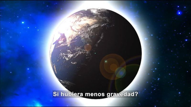 Still image from Science Video Vocab: Gravity (Spanish)
