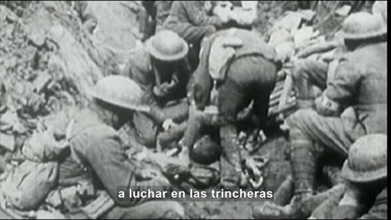 Still image from Social Studies Video Vocab: World War I (Spanish)