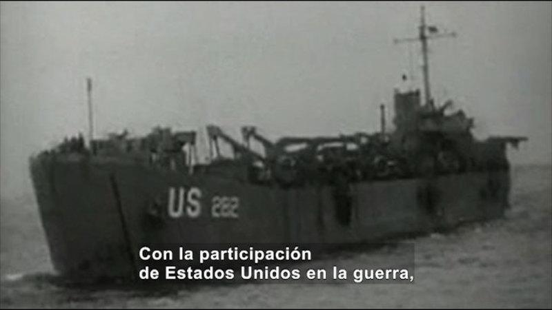 Still image from Social Studies Video Vocab: World War II (Spanish)
