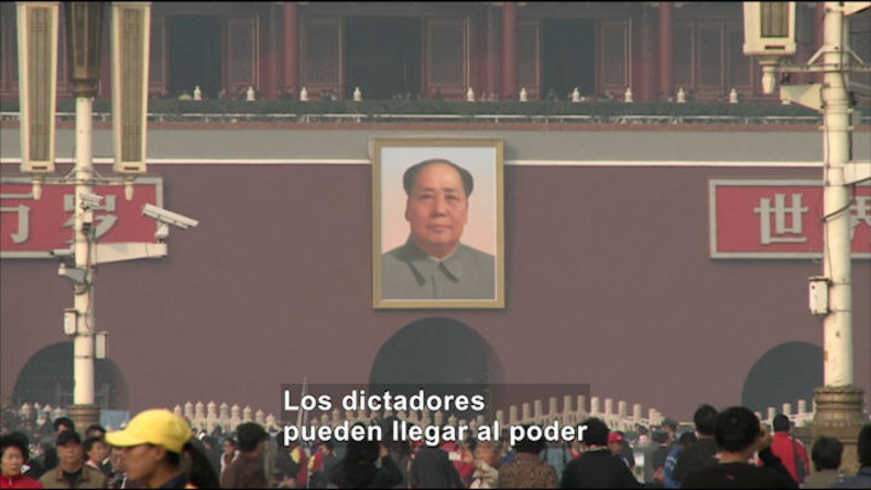 Still image from Social Studies Video Vocab: Dictatorship (Spanish)