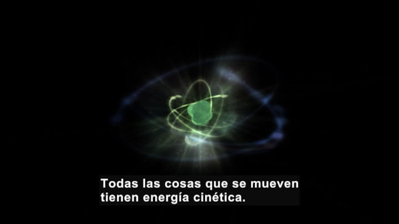 Still image from Science Video Vocab: Kinetic Energy (Spanish)