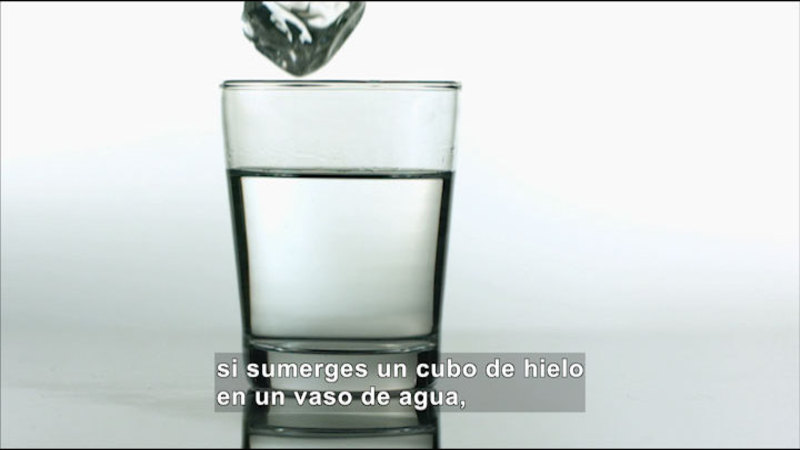 Still image from Science Video Vocab: Scientific Law (Spanish)