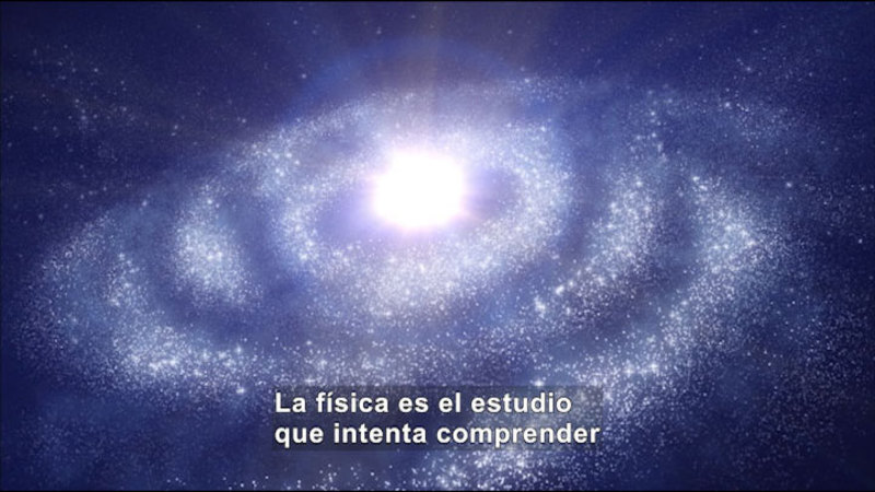 Still image from Science Video Vocab: Physics (Spanish)