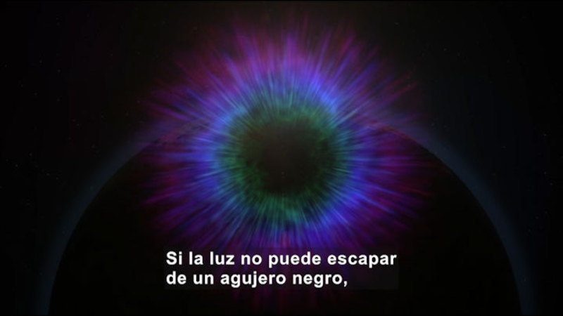 Still image from Science Video Vocab: Black Holes (Spanish)