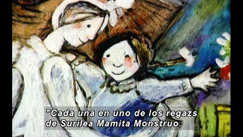 Still image from Kool Books: Mom The Monster (Spanish)