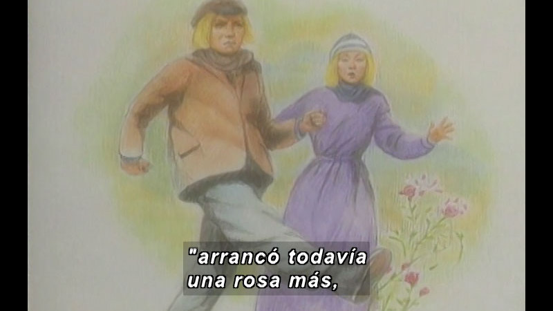 Still image from Kool Books: The Snow Queen (Spanish)
