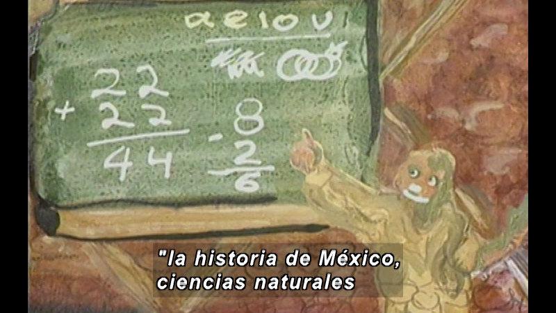 Still image from Kool Books: I Am Huichol (Spanish)