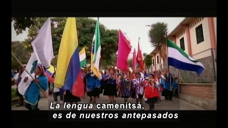 Still image from Colombia Express: Children Of The Festival I (Spanish)