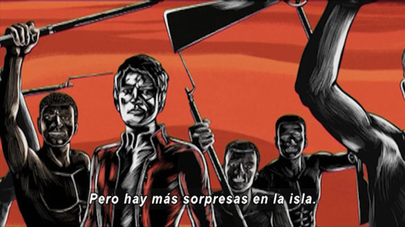 Still image from Revolutions: Haitian Revolution (Spanish)