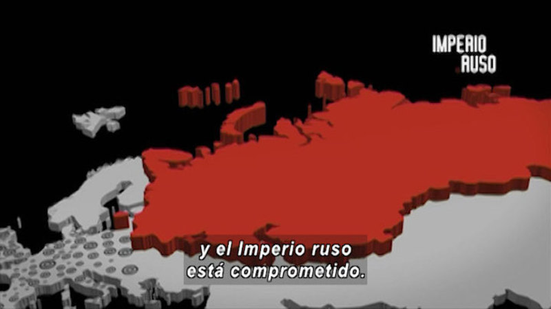 Still image from Revolutions: Russian Revolution (Spanish)