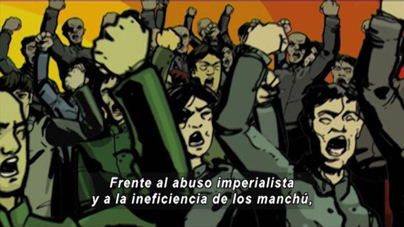 Still image from Revolutions: Chinese Revolution (Spanish)