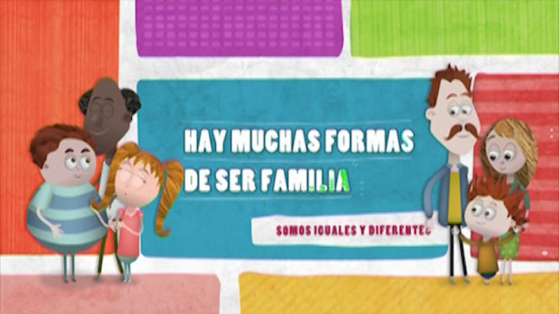 Still image from Similar And Different: Family Diversity (Spanish)