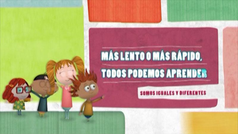 Still image from Similar And Different: Learning Time (Spanish)