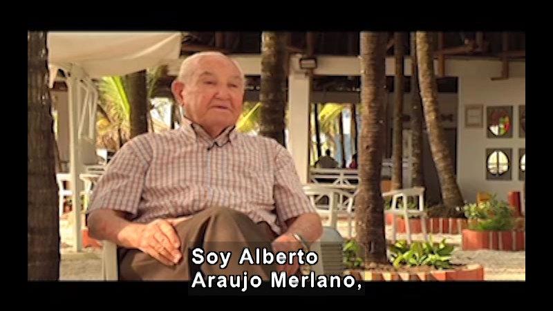 Still image from Science And Technology – Documentary: Alberto Araujo Merlano (Spanish)