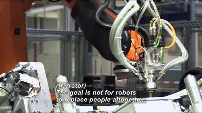 Still image from Science Nation: Worker Robots That Can Think on Their Feet