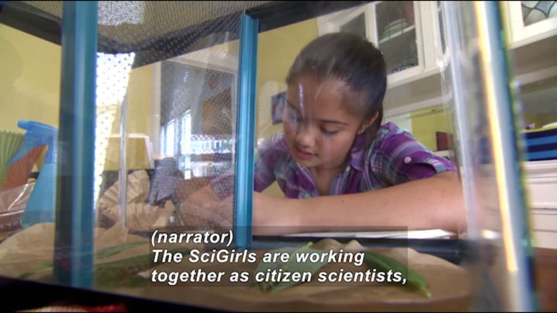 Still image from Science Nation: SciGirls TV Series Encourages Girls to Succeed in STEM