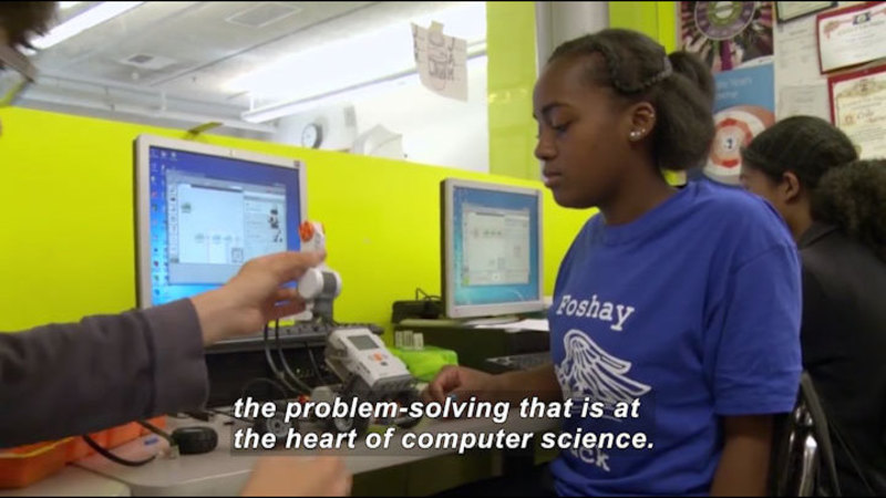 Still image from Science Nation: Education Research Team Successfully Launches Innovative Computer Science Curriculum