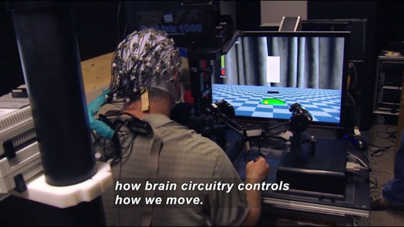 Still image from Science Nation: Eliciting Brain Plasticity to Keep the Body Moving