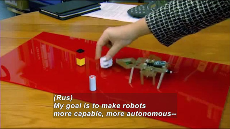 Still image from Science Nation: Printable Robots Designed to Be Consumer-Friendly, Inexpensive