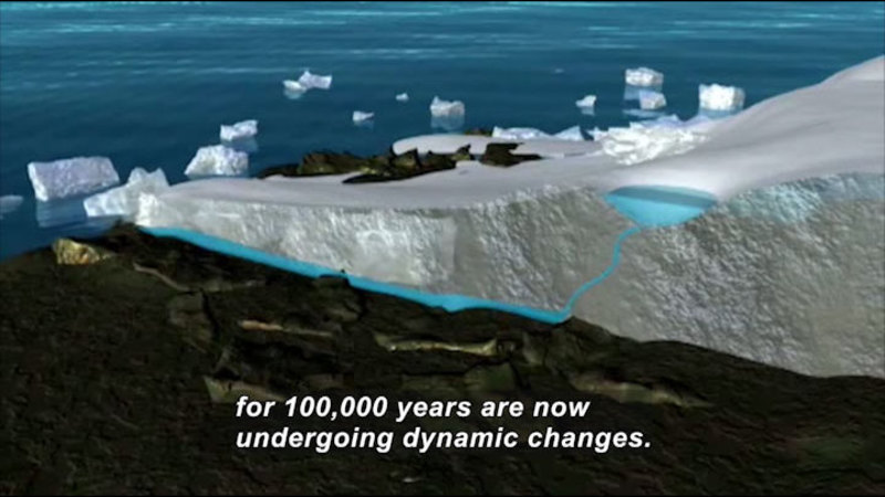Still image from Science Nation: The Center for Remote Sensing of Ice Sheets (CRESIS) Investigates Melting Polar Ice