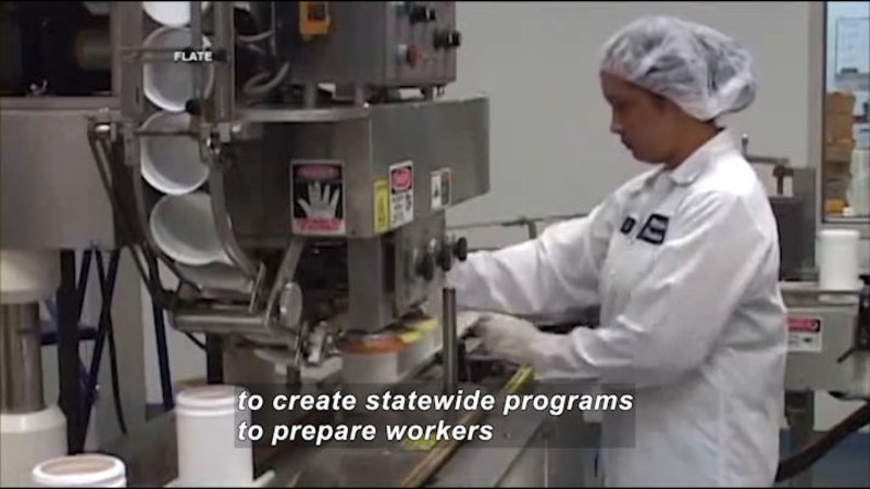 Still image from Science Nation: Preparing a Workforce for Advanced Manufacturing