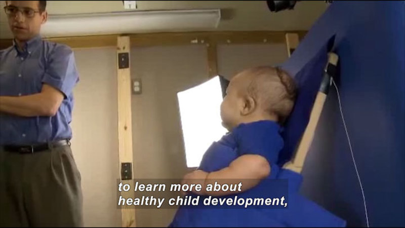 Still image from Science Nation: Baby Smiles Provide Clues to Healthy Development