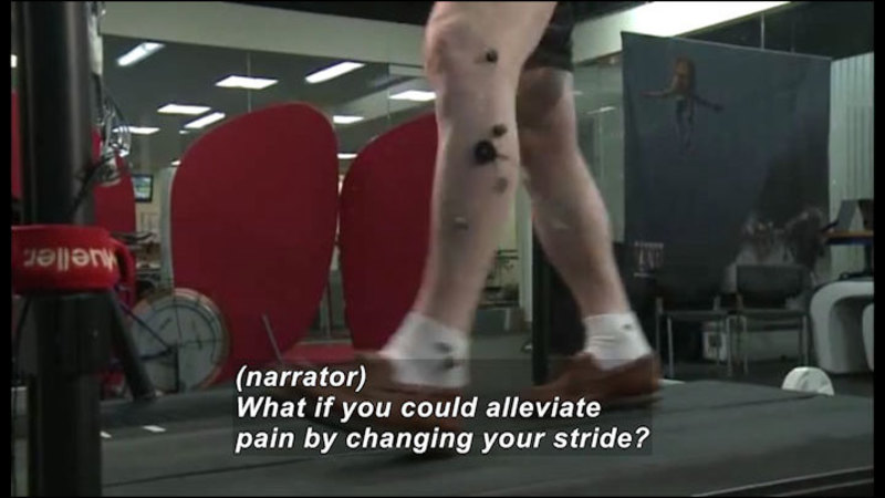 Still image from Science Nation: Movement Retraining Can Reduce Knee Pain