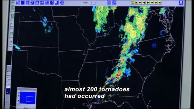 Still image from Science Nation: Game Changer Research Aims to Forecast Tornadoes