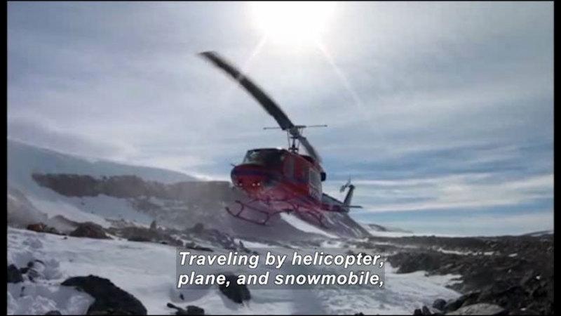 Still image from Science Nation: Antarctica Rocks