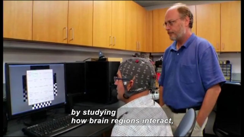 Still image from Science Nation: Mind Reading Computer System May Help People With Locked-In Syndrome