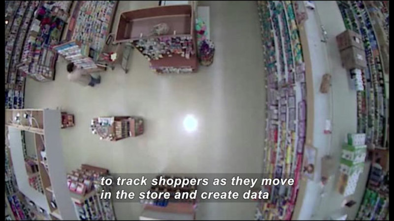 Still image from Science Nation: Science of Shopping--Cameras and Software That Track Our Shopping Behavior