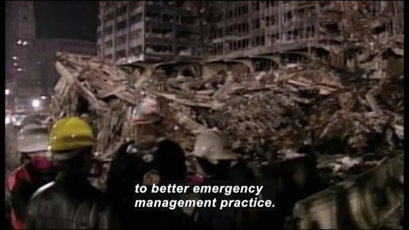 Still image from Science Nation: Decoding Disasters--Are We Prepared for Another 9-11?