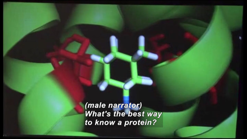 Still image from Science Nation: 3D Proteins--Getting the Big Picture