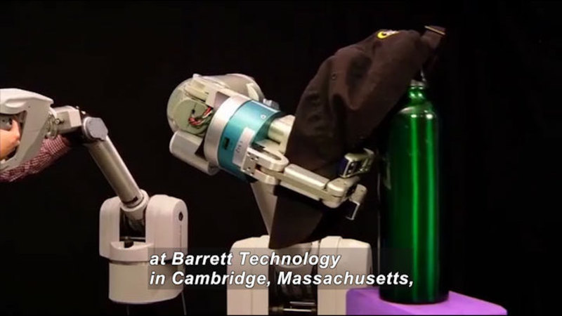 Still image from Science Nation: Robotic Arms