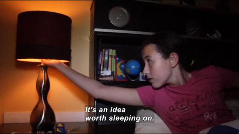 Still image from Science Nation: Sleep Deprived Kids