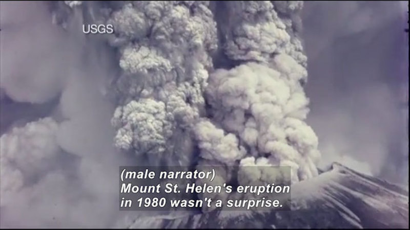 Still image from Science Nation: Mount St. Helens